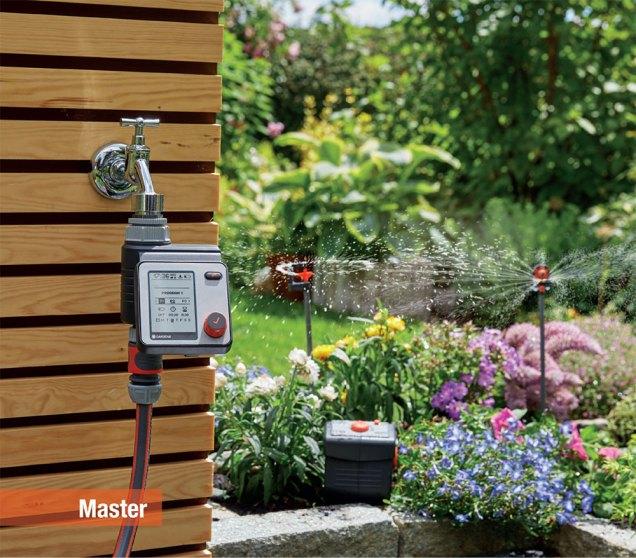 Computer per irrigazione modello Master di Gardena