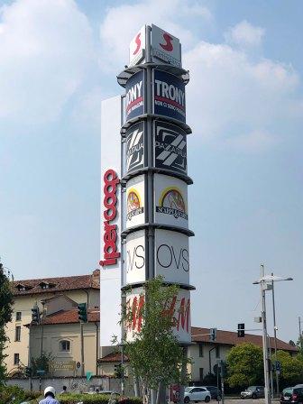 Il centro commerciale Sarca a Milano