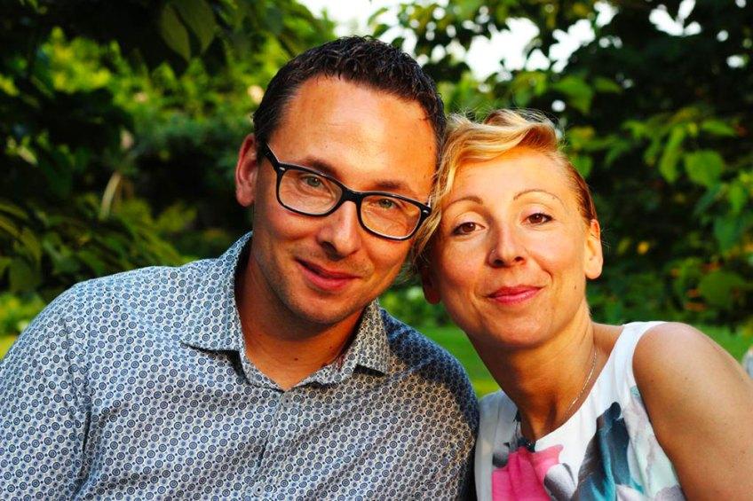 I titolari di BigMat Edilpellice, Barbara e Marco Banchio