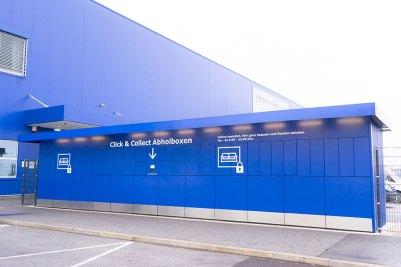 Il nuovo centro logistico di Strebersdorf, Vienna