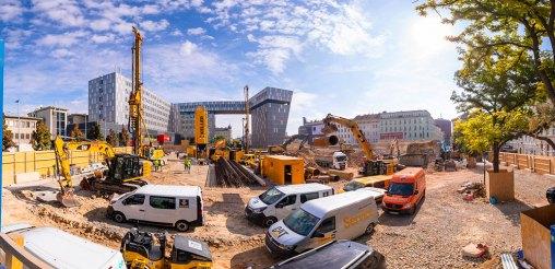 Il cantiere del nuovo IKEA a Westbahnhof, Vienna