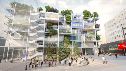 IKEA a Westbahnhof, Vienna