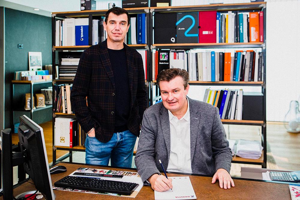 Gli AD Gianluca (a sinistra) e Vincenzo Zanutta