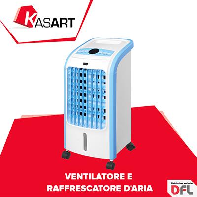 Il ventilatore e raffrescatore d'aria Kasart
