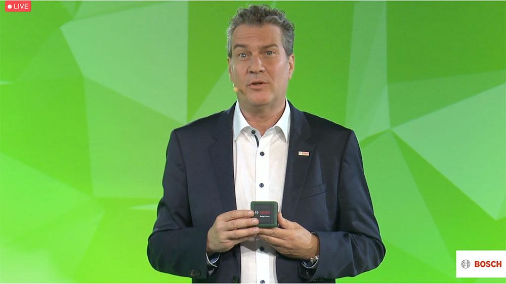 Il presidente di Bosch Power Tools, Henk Becker