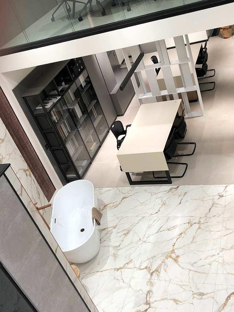 Lo showroom Porcelanosa a Milano