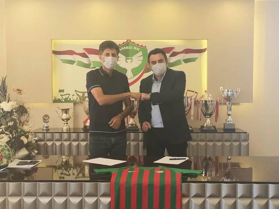 Amed Sportif Faaliyetler teknik direktör Aykan Atik'le anlaştı