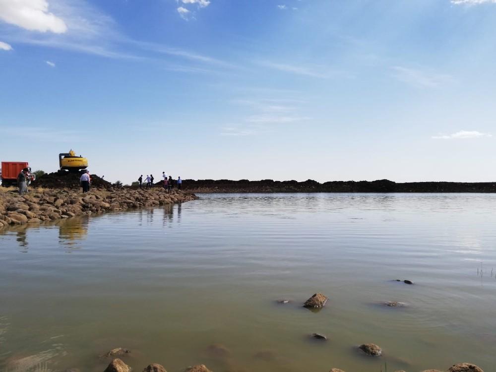 Diyarbakır'da Sağkulak Göleti 7 günde tamamlanacak