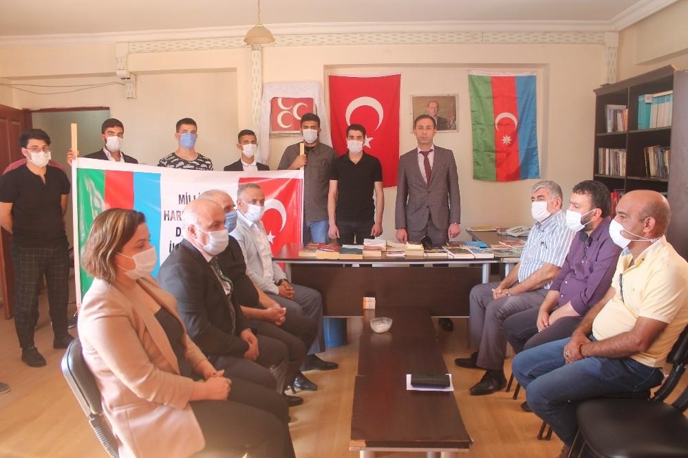 MHP Diyarbakır İl başkanlığından Azerbaycan'a destek