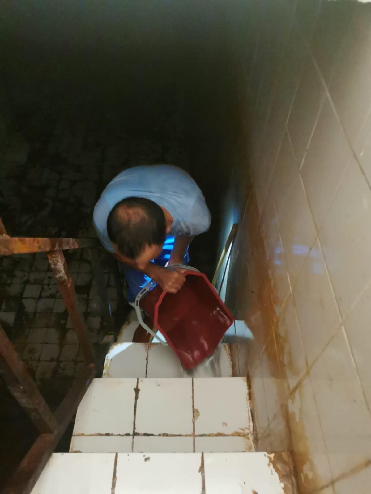 DİSKİ'den su depolarında temizlik çalışması