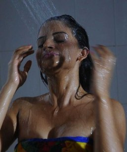 Spicy Anuhya Reddy Hot Wet Bath Stills in Kullumanali Movie