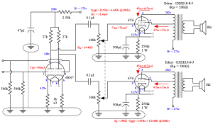 DIY 6V6 SEUL Tube Amplifier Schematic  Lacewood