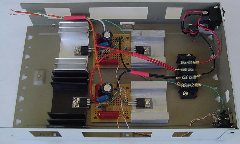 Construction of Headphone Amplifier