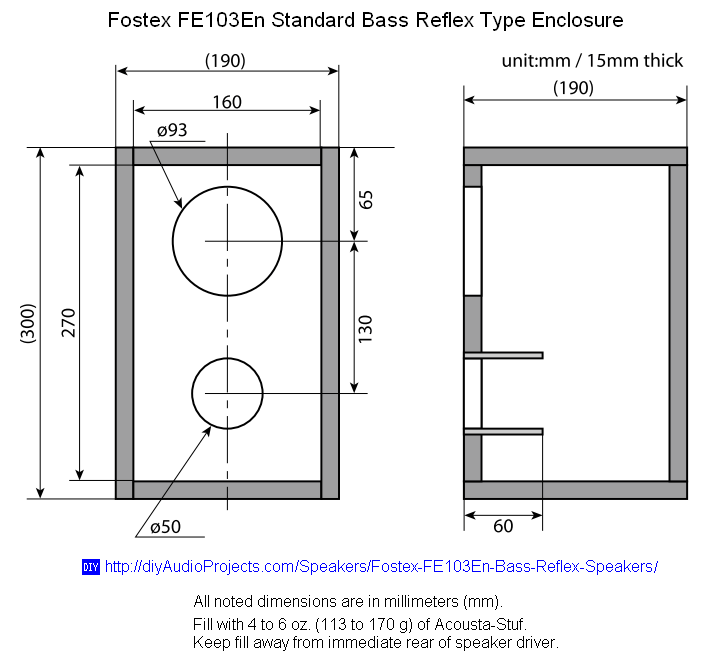 Plans Box Speaker