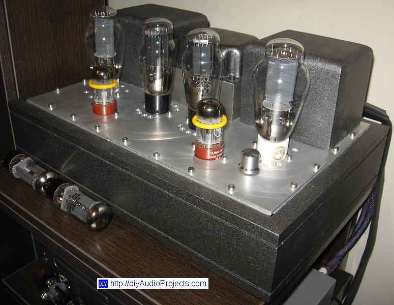 Diy 300b Single Ended Triode Set Hi Fi Amplifier Project