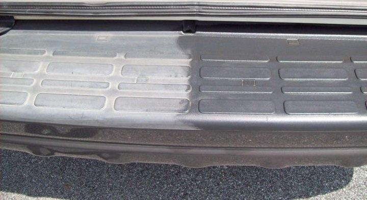 Restore car plastic