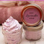 Diy Foaming Lavender Sugar Scrub Recipe Cleanses Exfoliates Diy Beauty Base