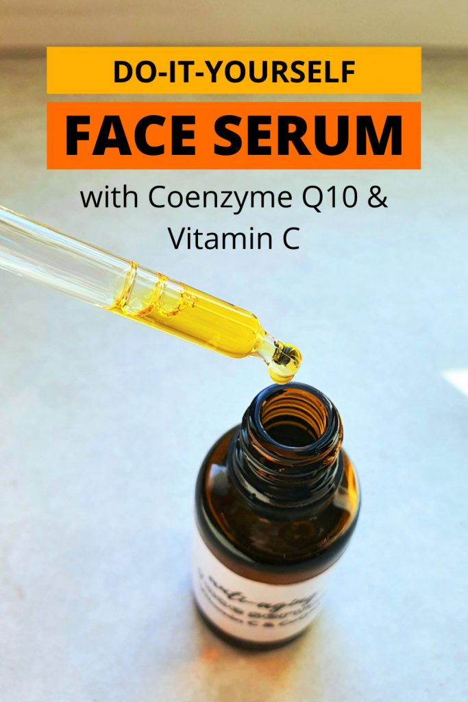 Anti Aging Diy Serum With Vitamin C Coq10 Easy To Make Diy Beauty Base