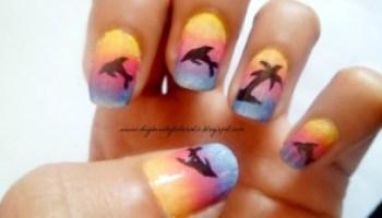Diy 2 Cute Colourful Summer Nails