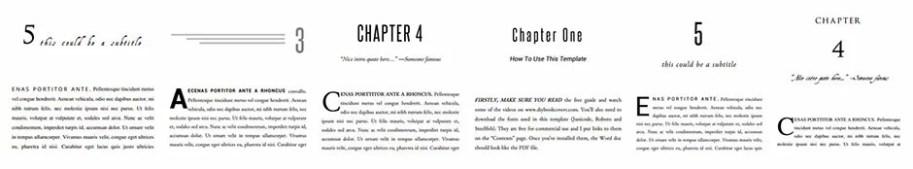 e60e07ca1ed81538917157-templates-1 Book Formatting Templates
