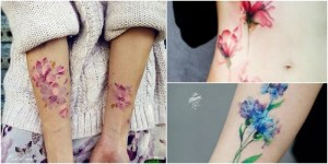 7 Creative Watercolor Tattoos Made to Showcase Your Elegance