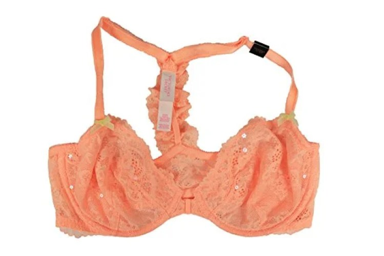 I love this pastel neon peach colored bralette! Amazing!
