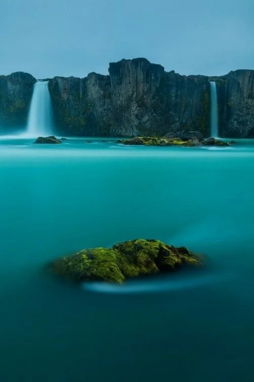 Waterfall of the Gods is definitely a fitting name for the majestic waterfall that can be found in Iceland!