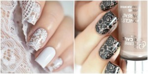 10 Artsy Lace Nail Designs to Copy