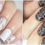 10 Artsy Lace Nail Designs to Copy