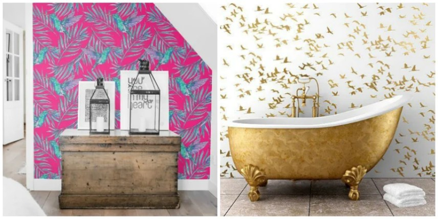 These bird wallpaper design ideas are the cutest!