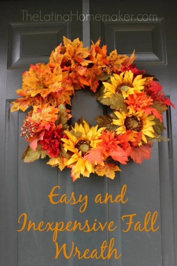 Fall is here! Decorate your home with these easy, simple, beautiful Fall DIY wreaths.