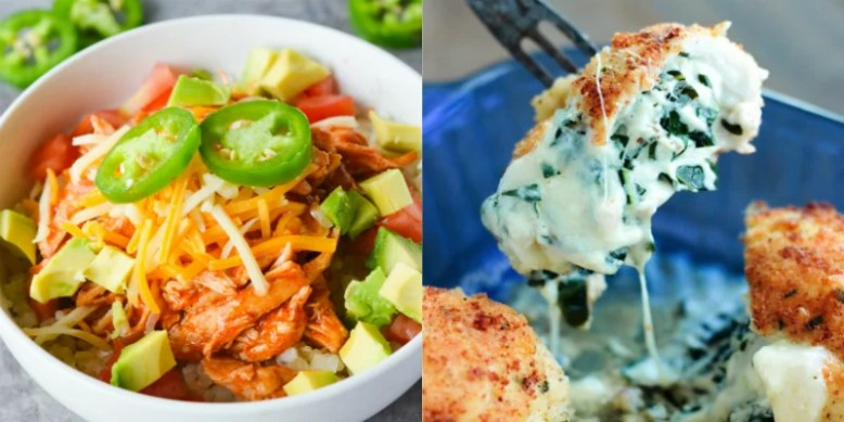 These 9 Keto Recipes Are Seriously MOUTHWATERING! If you are looking to eat on the ketogenic diet but don't want to feel deprived, try these recipes out!