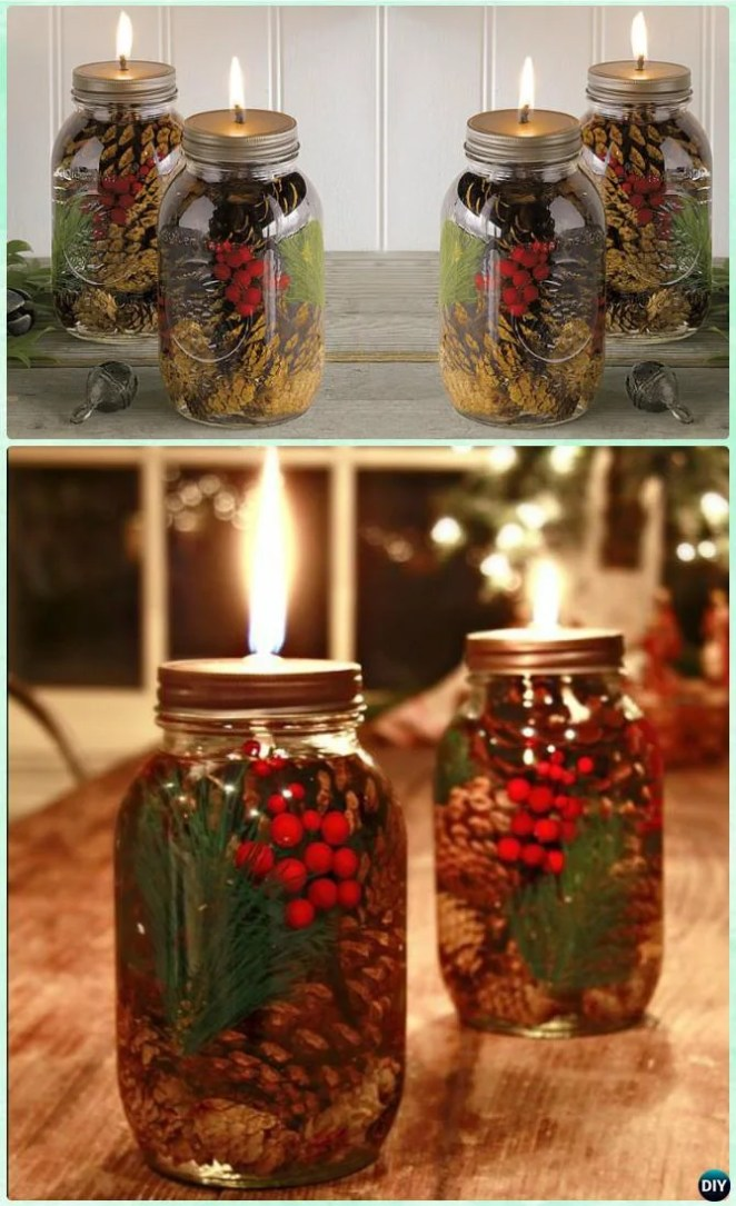 18 Diy Christmas Mason Jars To Gift Or Decorate With