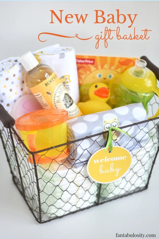 Special New Baby Gift Ideas : Top gift baskets for every type of person diybunker