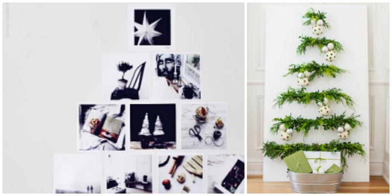 12 Creative Alternative Christmas Trees to DIY