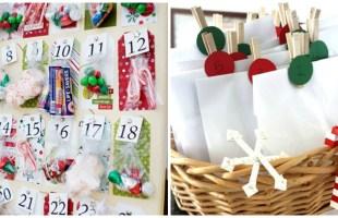 17 Charming DIY Advent Calendars For Christmas