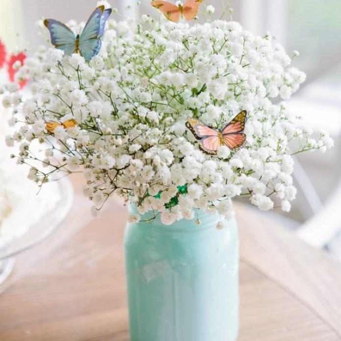 Butterfly Flower Arrangement DIY Craft For Easter
