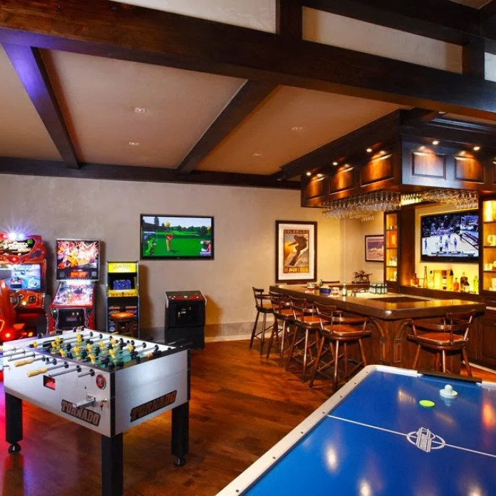 Gaming Room and Bar/Pub Setup