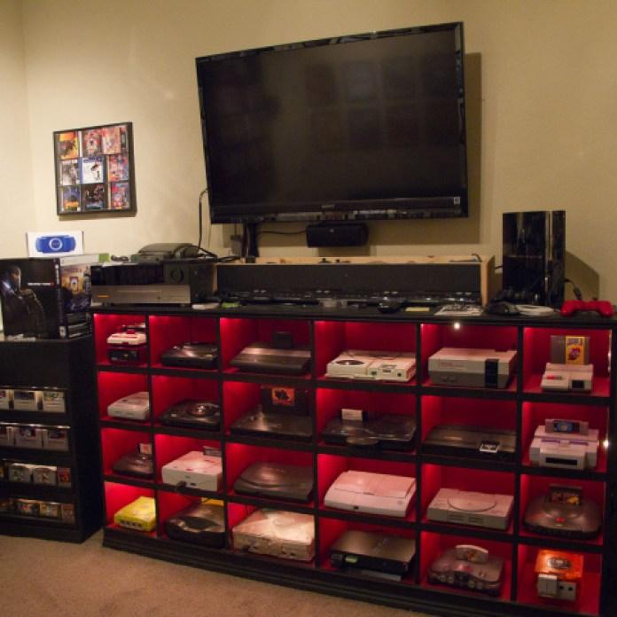 IKEA Video Game Room