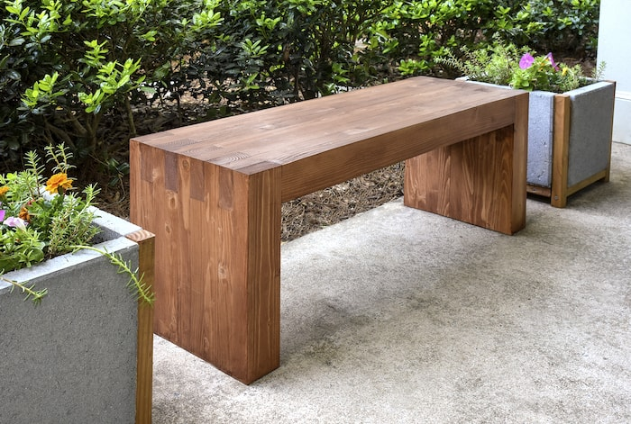 diy outdoor bench inspired by williams