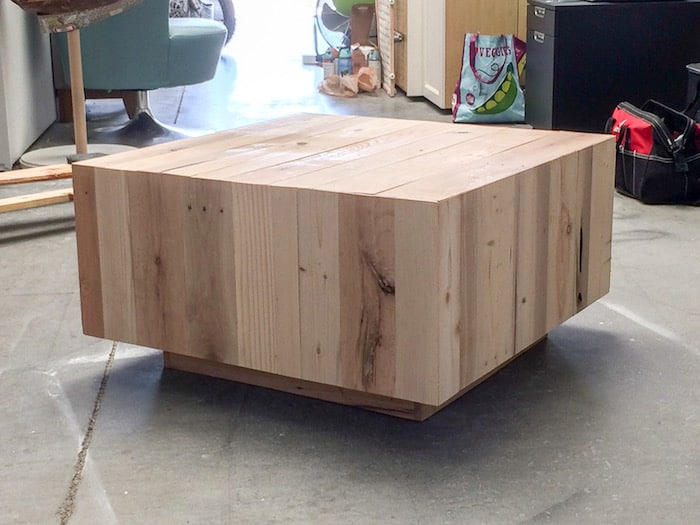 diy coffee table inspired by west elm