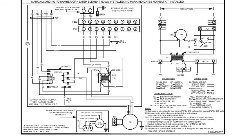 Goodman Electric Heat Strip Wiring