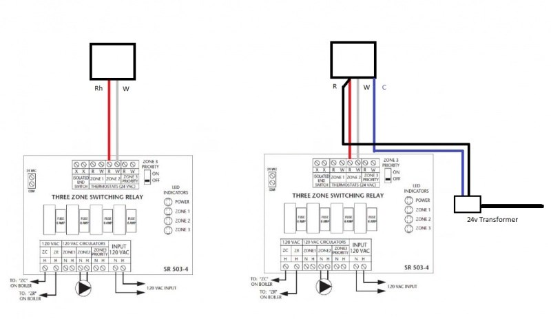 """Adding A New """"c"""" Wire To Upgrade From Two Wire Thermostat"""
