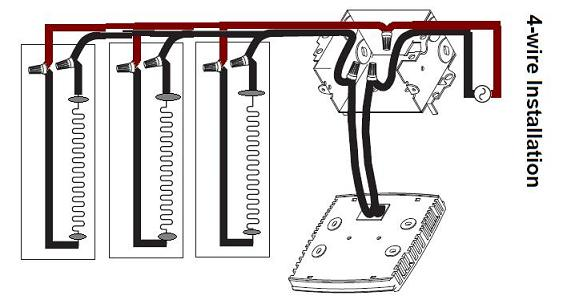Wiring 2 Baseboard Heaters To 1 Thermostat