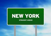 New York Highway Sign