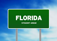 Florida Highway Sign