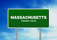 Massachusetts Highway Sign