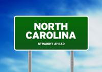 North Carolina HIghway Sign