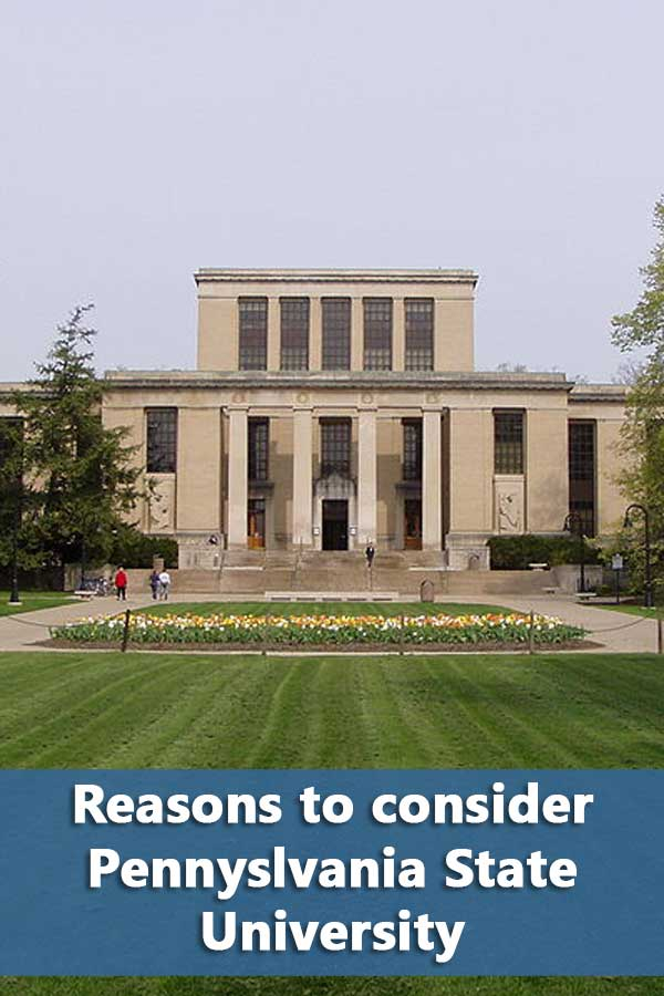 50-50 College profile for Pennsylvania State University including graduation rates and financial aid information.