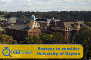 University of Dayton campus